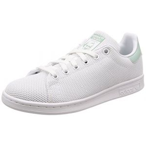 Adidas Stan Smith W, Chaussures de Fitness Femme, Blanc (Ftwbla/Ftwbla/Vercen 000), 38 2/3 EU