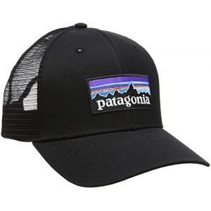 Patagonia P6 Casquette pour Homme Noir Noir Taille Unique