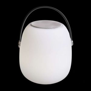 Lynco Lampe LED haut-parleur Bluetooth PE 22 x 22 x 30 cm