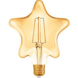 Osram Vintage 1906 LED E27 Star 4.5W 825 Dorée | Substitut 40W