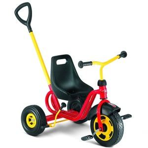 Puky Tricycle rouge avec canne réglable
