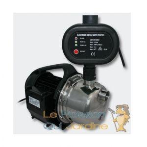 Pompe à eau arrosage INOX , drainage, puits 4600l/h + pressostat - 050758 - AQUA OCCAZ