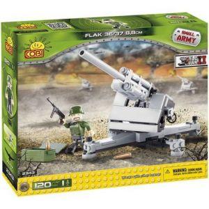 Cobi 2343 - Small Army Canon Flak 120 pièces