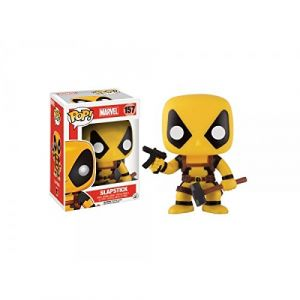 Funko Figurine Pop! Marvel : Deadpool Rainbow Squad Slapstick Yellow