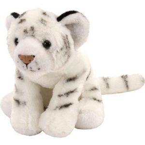 Wild Republic Europe Tigre en peluche 20 cm Blanc