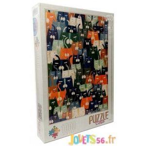 Dtoys Puzzle Andrea Kürti - Cats