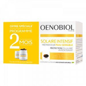 Oenobiol Solaire Intensif - Préparateur peau sensible 2x30 capsules