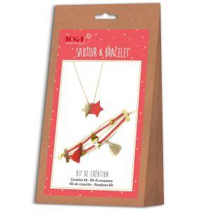 Toga Kit de création de bijoux - Sautoir et bracelet Juicy