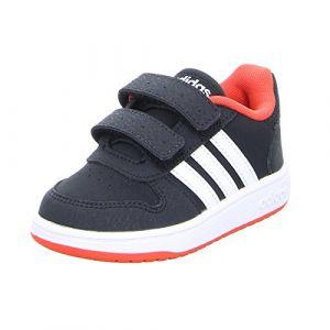 Adidas Chaussures enfant Chaussure bébé Hoops 2.0 CMF Noir - Taille 22,23,24,26,24 / 25