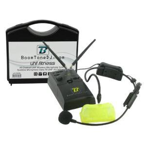 BoomToneDJ UHF Fitness - Micros serre tête ou cravate H.F. sans fil
