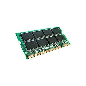 Kingston KTD-INSP6000/256 - Barrette mémoire ValueRAM SO-DIMM 256 Mo DDR2 PC3200