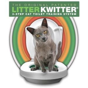 Litter Kwitter Kit de toilette pour chat