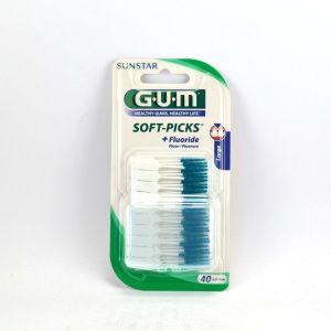 G.U.M Soft-Picks Original - 40 brossettes interdentaires larges