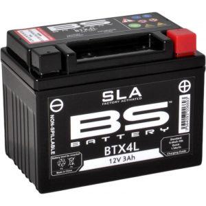 BS Battery Batterie BS BTX4L sans entretien activée usine
