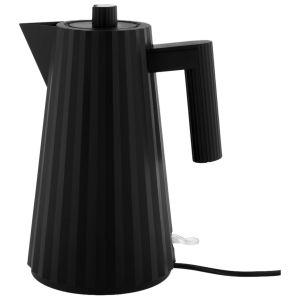 Alessi Bouilloire électrique Plissé / 1,7 L noir en matière plastique