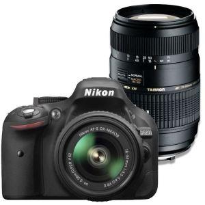 Nikon D5200 (avec 2 objectifs 18-55mm et 55-300mm)