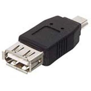Valueline CMP-USBADAP9 - Adaptateur USB type A femelle / mini mâle
