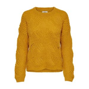 Only NOS Onlhavana L/s Pullover KNT Noos Pull, Jaune Golden Yellow, X-Large Femme