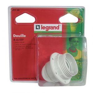 Legrand Douille E27 demi-fileté + bague - 150 W