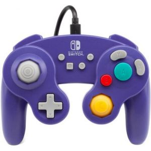 PowerA Manette Filaire Switch Gamecube Violette