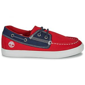 Timberland Chaussures enfant Newport Bay Boat Shoe TD - Couleur 31,32,33,34,35 - Taille Rouge