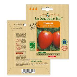 La Semence Bio Graines de Tomate bio coeur de boeuf