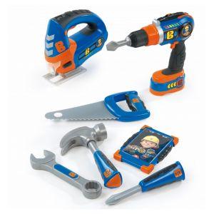 Smoby Coffret d'outils de bricolage Bob le bricoleur