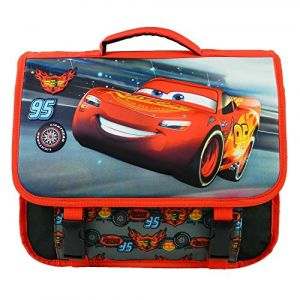 Sac à dos Disney Cartable 38CM NOIR ET ROUGE-CARS MACQUEEN