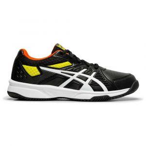 Asics Baskets Court Slide Clay Gs - Black / White - Taille EU 34 1/2