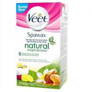 Veet Spawax - Recharge de cire fleur de tiaré et huile d'argan