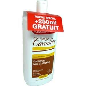Rogé Cavaillès Gel surgras bain et douche peaux sensibles - 1 L