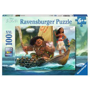 Ravensburger Puzzle XXL Vaiana et Maui (100 pièces)