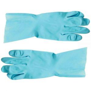 Mapa Paire de gants de ménage latex bleu Vital 117 – Taille 8. - Lot de 10