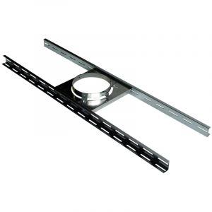Poujoulat Support sur plancher ou charpente inox/galva dn 155 - 230 sp 155 - 230
