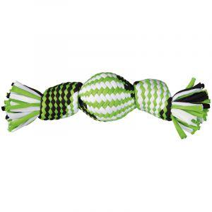 Trixie Balle en Plastique avec Tissu Jersey - 26cm