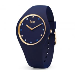 Ice Watch Ice-Watch - ICE cosmos Blue shades - Montre bleue pour femme avec bracelet en silicone - 016301 (Small)