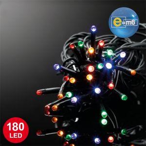 Codico Guirlande lumineuse 180 LED fil noir (20 m)