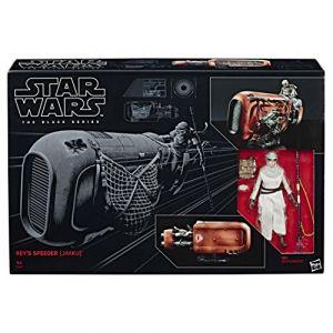 Hasbro Figurines Star Wars : Le Réveil de la Force Moto jet de Rey Jakku