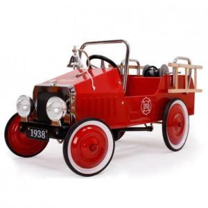Baghera Voiture à pédales Camion de Pompier