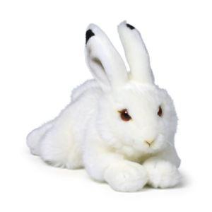 WWF Peluche Lapin des neiges couché 23 cm