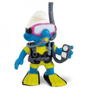 Schleich 20466 - Figurine Schtroumpf plongeur