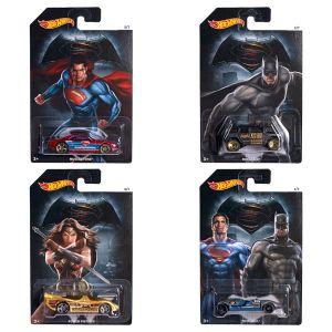 Mattel Batman V Superman Véhicule Hot Wheels Tantrum