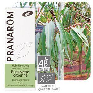 Pranarôm Huile essentielle Bio d'eucalyptus citronné, 10 ml