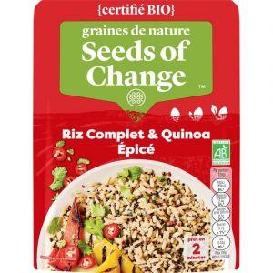Seeds of Change Riz complet et quinoa épicé