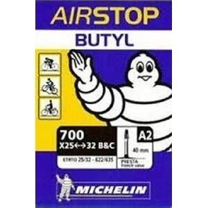 Michelin Chambre à Air Airstop Butyl 700x25/32 Presta 40mm