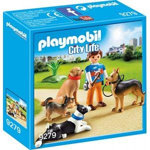 Playmobil 9279 - City Life : Entraîneur et chiens