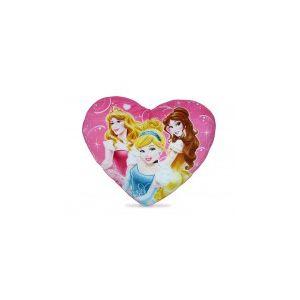 DISNEY PRINCESS Coussin Coeur Pm - Coussin en peluche à l'effigie des Princesses Disney - En forme de coeur - Dimensions : 38 x 32 cm - Modèle et coloris selon disponibilité - Fille - A partir de 2 ans - Vendu à l'unité