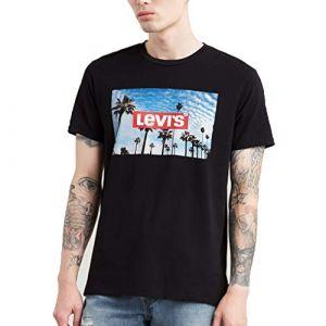 Levi's Graphic Set-In Neck 2 T-shirt Hommes noir T. L