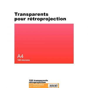 Majuscule Transparent copieur A4 100m - boite de 100