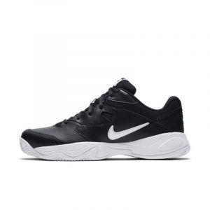 Nike Chaussure de tennis pour terre battue Court Lite 2 pour Homme - Noir - Taille 47 - Male